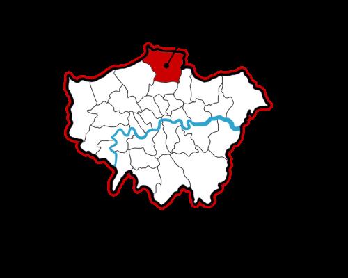 London Map CBL Site - Enfiled 500